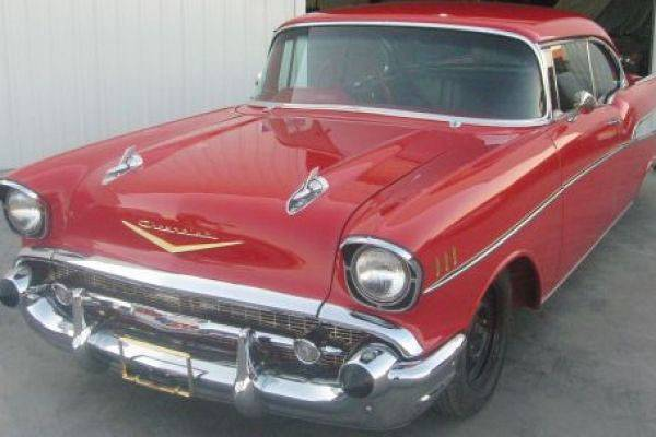1957 CHEVROLET BELAIR COUPE