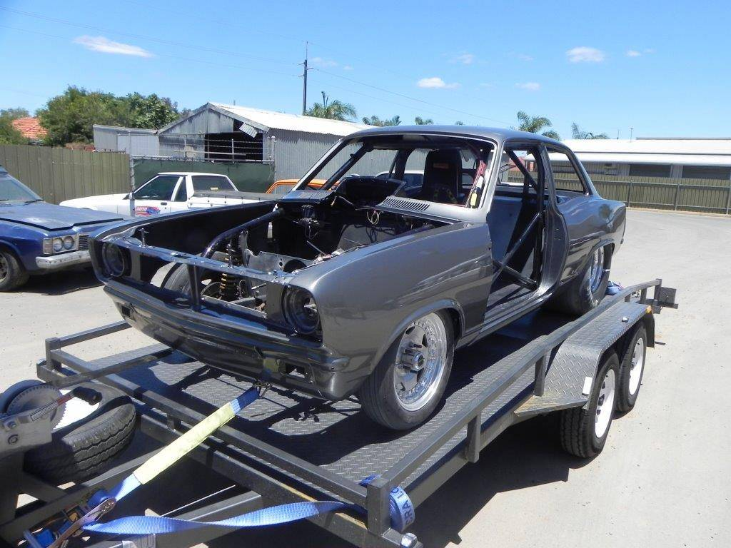 HB Torana Drag Car